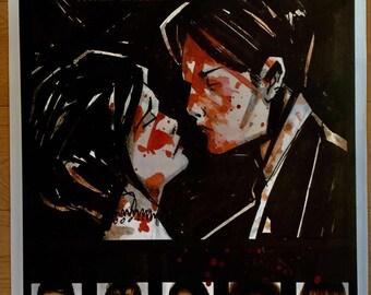 My Chemical  Romance 25 x 35 Three Cheers For Swift Revenge