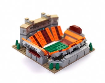 Mini Virginia Tech Lane Stadium Custom Brick Set with Printed Instructions