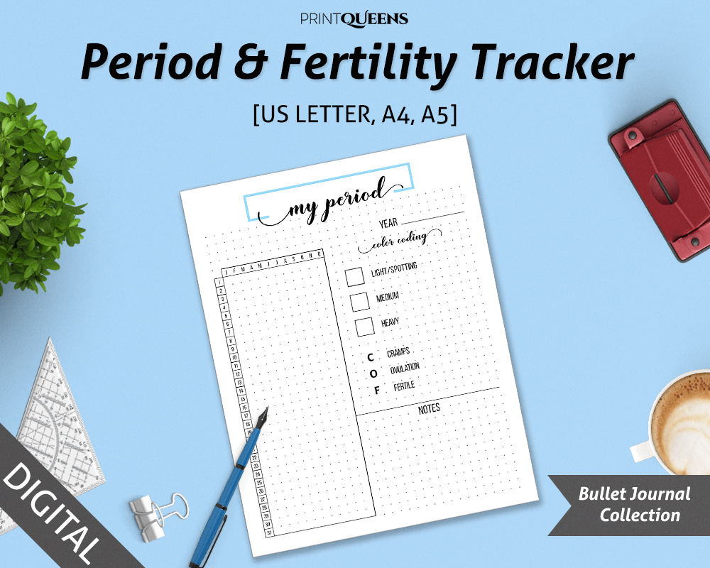 Period Tracker Menstruationszyklus Tracker