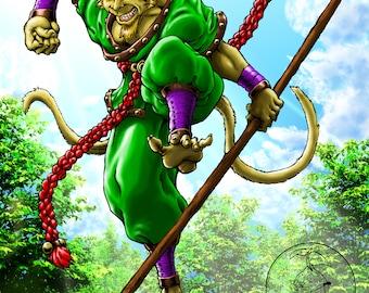 Warrior of the Stone Mountain