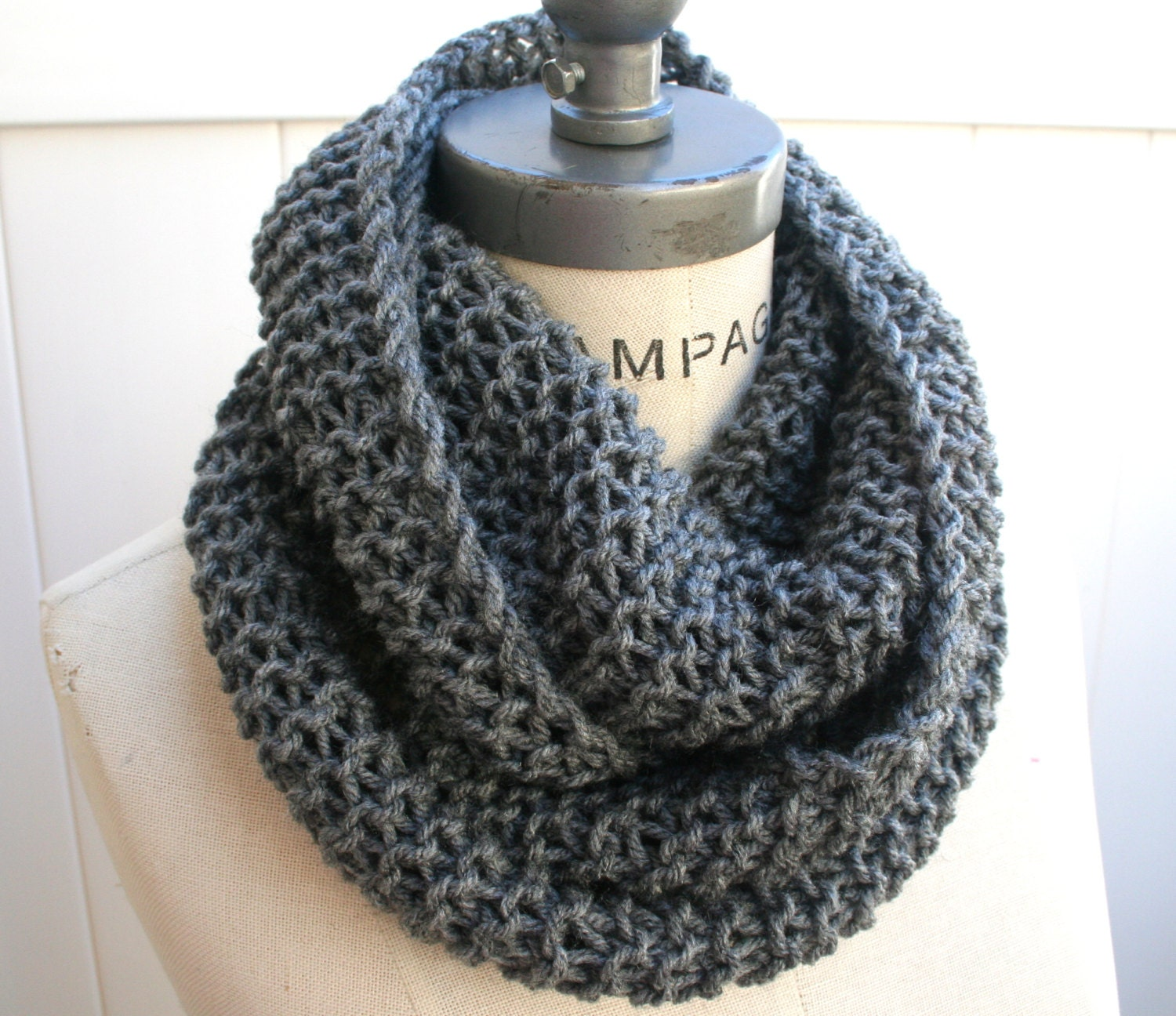 Most sold best selling shops item grey gray knit scarf zoom bankloansurffo Choice Image