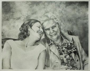 Custom Portrait in Pencil/Graphite