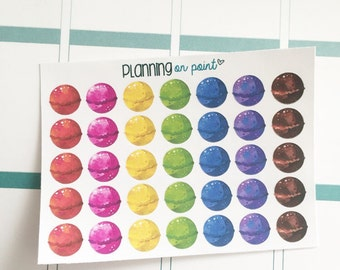 Bath Bomb Planner Stickers!