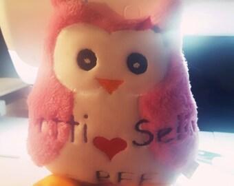 Personal Owl Plush