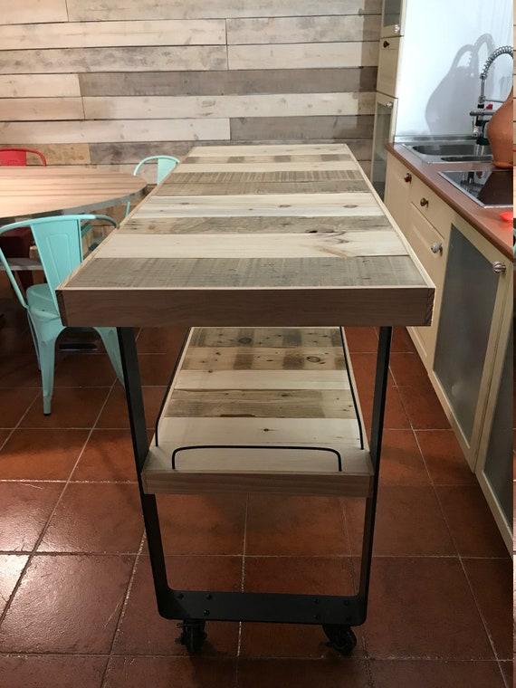 Lujo Isla De Cocina De Corte Bordo Inspiración - Ideas para ...