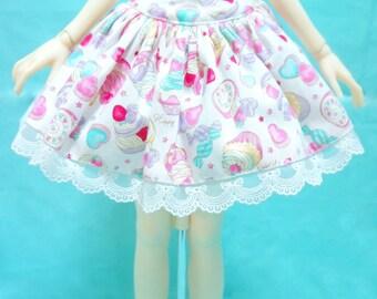 SD BJD low waist lolita skirt