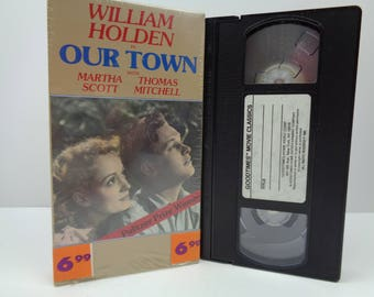 Our Town VHS Tape