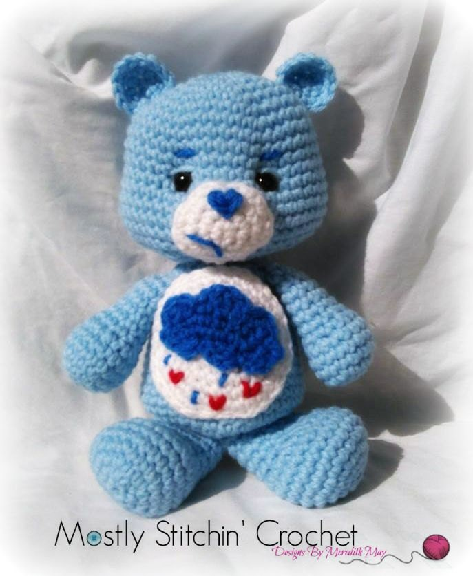 Care Bear Crochet Pattern Images - knitting patterns free download