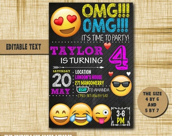 Free Birthday Emojis ~ How to throw the ultimate emoji themed birthday party babble