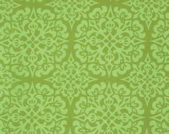 Heather Bailey Ginger Snap Snowflake Green PWHB062.0GREE  100% Quilters Cotton Available in Yards, Half Yards and Fat Quarters