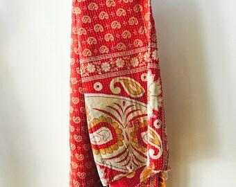"Vintage Kantha Quilt ""Sally"""