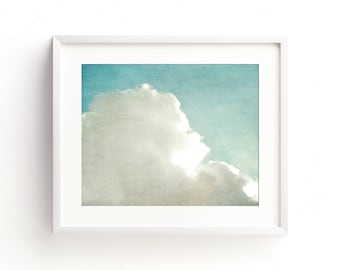 """cloud photograph, cloud photos, large art, large wall art, cloud wall art, cloud art print, nature photography - """"Lost in the Atmosphere"""""""