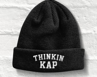 Thinking Cap Beanie Hat, Thinkin Kap beanie Hat, Thinkin Kap hat Beanie Winter Hat