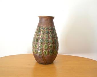 Mid Century Modern Art Pottery Vase USA 367