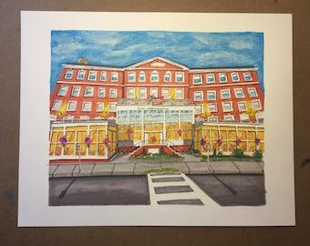 Hotel Northampton Limited Edition Print