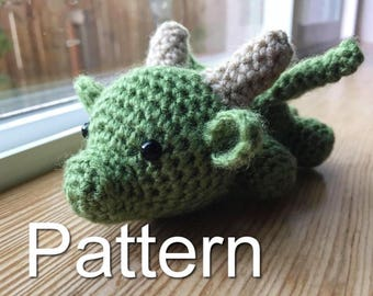 Baby Dragon Crochet Pattern, Game of Thrones Crochet, Amigurumi Dragon, Crochet Dragon, Dragon Plush, Amigurumi Pattern, Baby Dragon