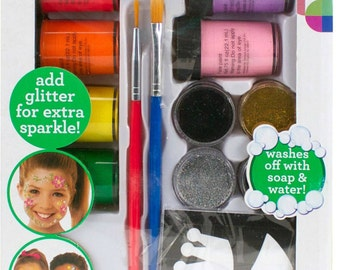 KIDS CRAFT Face Paint Mega Set face paint contains projects activities that will help your child to reveal his or her creativity 9A2A