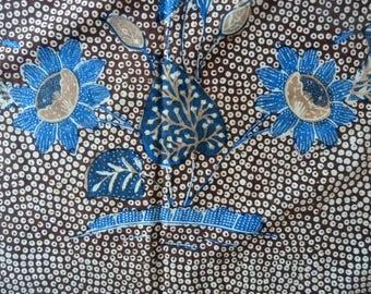Traditional Kombinasion Indonesian Batik Kain from Java