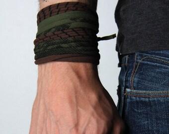 Men Bracelet, Wrap Bracelet, Boyfriend Gift, Gift for Men, Mens Gift, Husband Gift, Festival, Gift for Husband, Boyfriend, Cuff Bracelet