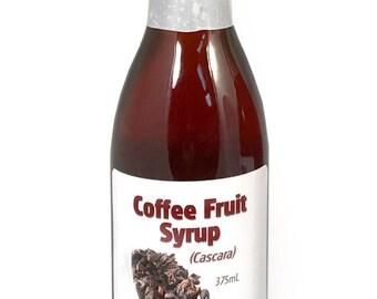 Coffee Cascara Syrup, 375 mL