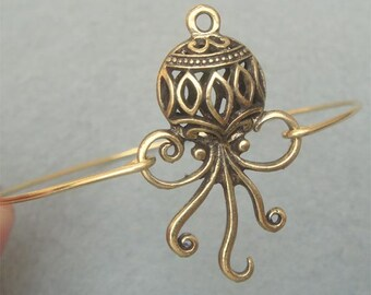 Octopus Bangle Bracelet