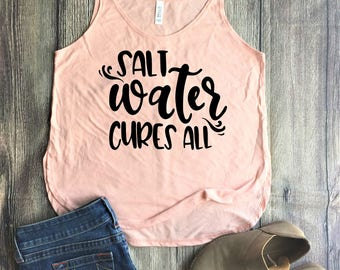Salt Water Cures All Shirt / mom boss shirt, mama bear, mom life is the best, funny mom shirt, mom tee, raising my tribe, boss mom