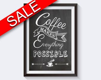 Wall Art Coffee Digital Print Coffee Poster Art Coffee Wall Art Print Coffee Bar Art Coffee Bar Print Coffee Wall Decor Coffee coffee lovers