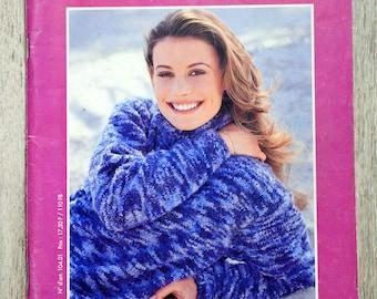 Explanation Bergère de France 1998-1999 knitting magazine