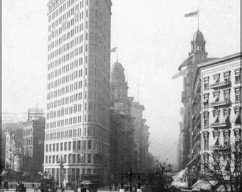 Poster, Many Sizes Available; Flatiron Building (Fuller Building) In Manhattan, New York City C.1903