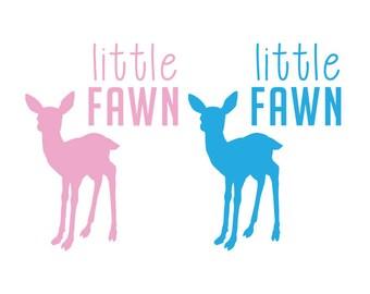 Little Fawn Vinyl Decal Sticker