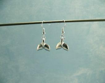 Whale Earrings~Whale Tail earrings; whale tail jewelry; orca jewelry; orca earrings; whale tail; beach earrings; beach jewelry; WHALES