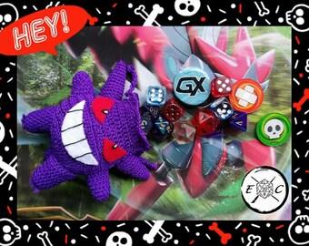 pokemon gengar dice bag