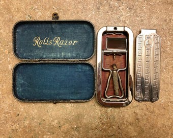Vintage Razor > Mens Shaving Kit > 1950