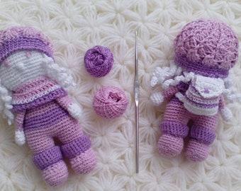 Set Travel Amigurumi Dolls - Crochet Toy