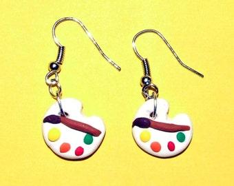Art Palette Earrings