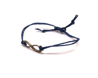 Unisex infinity bracelet