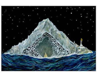 Fine Art Print-Sienna & the Arctic Night