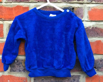 The Fuzzy Blue Jumper