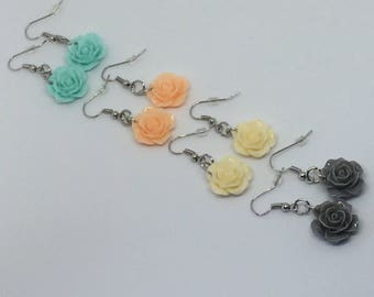 Baby Rose earrings