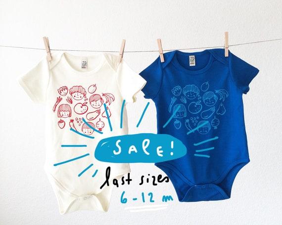 Vitaminas // Organic Baby Bodysuit