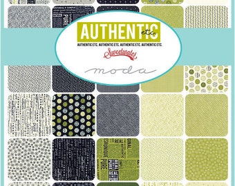 AUTHENTIC etc. Charm Pack by Sweetwater for Moda