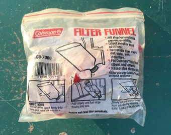 Coleman Filter Funnel New old Stock