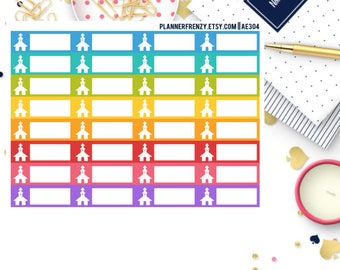 32 Church Label Planner Stickers! AE304