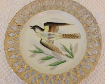 Pretty Bird Decorative Plate