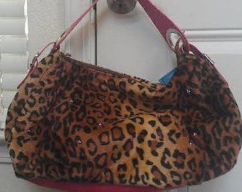 Hot Pink Hobo Handbag