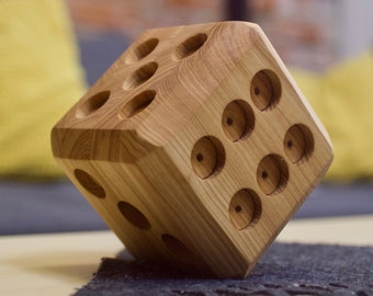 Large Wooden Dice (Free Shipping)