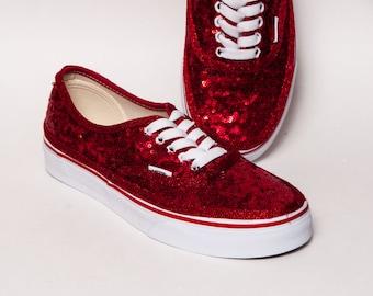 b78fea1ce98e red sparkly vans - sochim.com