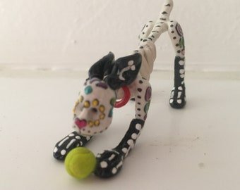 Day of the Dead miniature dog