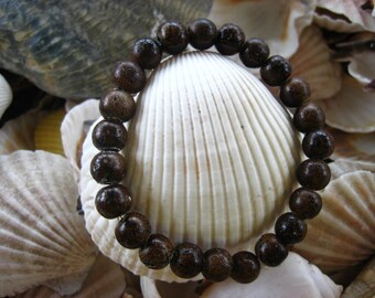 164 craquelure glass beaded handmade bracelet