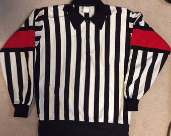 Vintage Bruce Hood Hockey Referee jersey